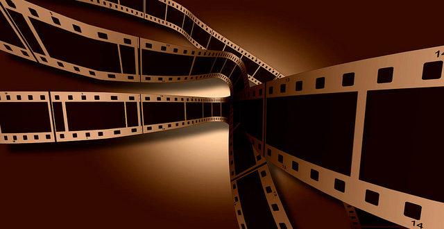 Film frames chasing the light